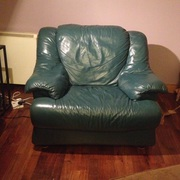 Natuzzi Leather suite 2 2-seater a,  2 armchairs