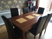 dinig room table and chairs