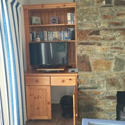 T.V wall unit with storage