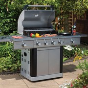 Lifestyle 4 Burner Stainless Steel BBQ from Hanley's Home & Garden