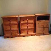 For Sale Bedside Lockers