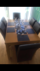 Dining furniture - table ,  chairs,  side board,  coffee table QUICK SALE