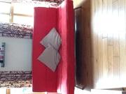 Red futon for sale Charleville