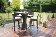 Enhance Your Dining Experience with the Maze Rattan 4 Seater Bar Set