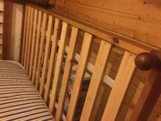 2 Pine Identical Single Beds