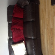 Real leather sofa 3&2 seater