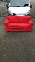 Two seater suite excellent condition for sale