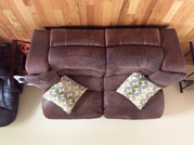 3 seater and 2 seater couches