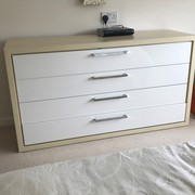 4 drawer chest unit in exceelent conditon